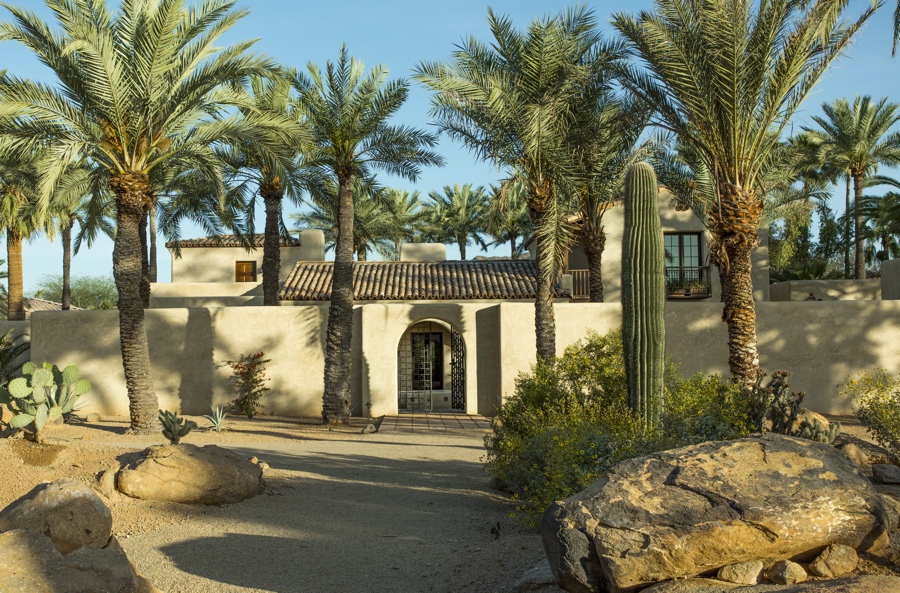 adobe architecture paradise valley arizona residential architects